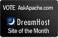 DreamHost Site Of The Month Winner- AskApache