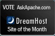 DreamHost Site Of The Month Winner- AskApache
