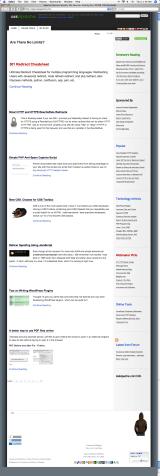 AskApache.com ScreenShot - Safari 3.0.4