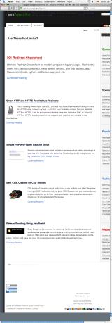AskApache.com ScreenShot - Safari 1.3.2