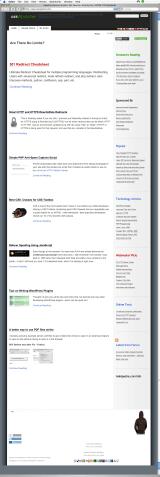 AskApache.com ScreenShot - Safari 2.0.4