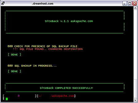 On-Demand MySQL Backup Shell Script