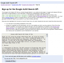 Get Google API Key