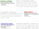 AdSense Optimized using Colors and Position