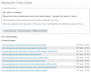 AskApache Crazy Cache WordPress Plugin