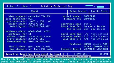 Technical Log
