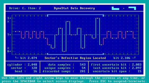 DynaStat Data Recovery