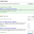 wordpress 404 plugin for Google Search