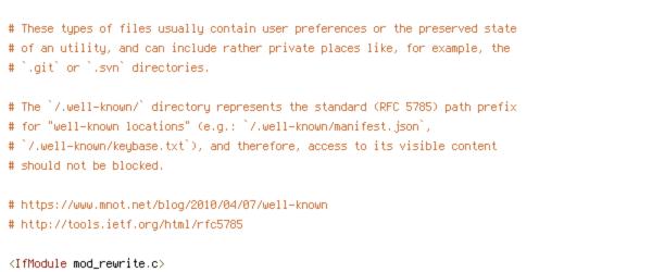 DEFLATE, HTTP_HOST, HTTPS, REQUEST_URI, SCRIPT_FILENAME