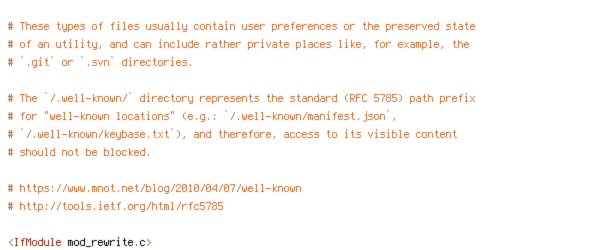 DEFLATE, force-no-vary, HTTP_HOST, HTTP_USER_AGENT, HTTPS, INCLUDES, REQUEST_FILENAME, REQUEST_URI, SERVER_PORT, static, TIME