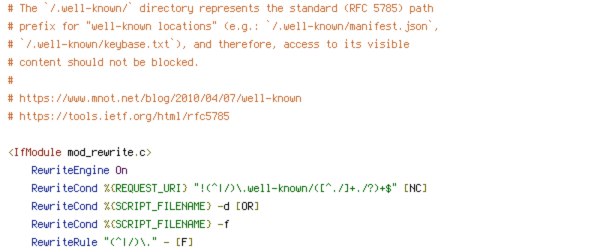 DEFLATE, HTTP_HOST, HTTPS, REQUEST_FILENAME, REQUEST_URI, SCRIPT_FILENAME, static
