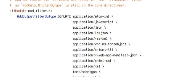 DEFLATE, HTTP_HOST, HTTPS, REQUEST_FILENAME, REQUEST_URI