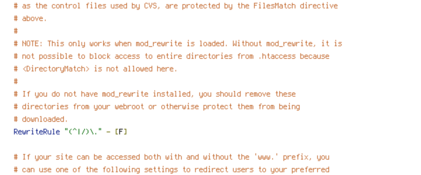 ENV, HTTP_HOST, HTTPS, no-gzip, POST, protossl, REQUEST_FILENAME, REQUEST_URI