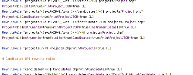 HTTP_HOST, HTTPS, REQUEST_URI, TIME