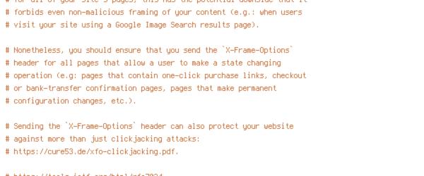 ENV, HTTP_HOST, REQUEST_FILENAME, REWRITEBASE