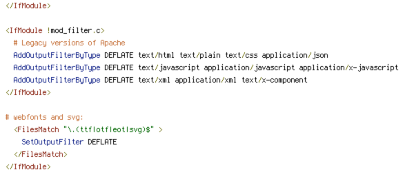 DEFLATE, HTTP_HOST, HTTPS, INCLUDES, static