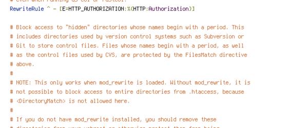 ENV, HTTP_HOST, HTTPS, no-gzip, protossl, QUERY_STRING, REQUEST_FILENAME, REQUEST_URI