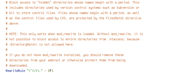 HTTP_HOST, no-gzip, REQUEST_FILENAME, REQUEST_URI