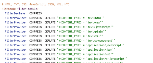 CONTENT_TYPE, DEFLATE, DOCUMENT_ROOT, REQUEST_FILENAME, REQUEST_URI, static