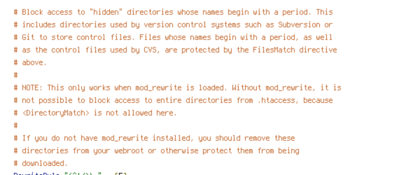 HTTP_HOST, no-gzip, REQUEST_FILENAME, REQUEST_URI