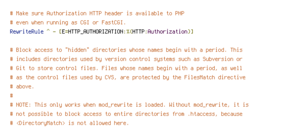 HTTP_HOST, HTTPS, no-gzip, protossl, REQUEST_FILENAME, REQUEST_URI