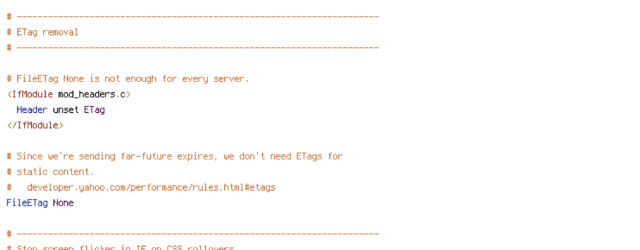 DEFLATE, force-no-vary, HTTP_HOST, HTTPS, REQUEST_FILENAME, REQUEST_URI, SERVER_PORT, static, TIME