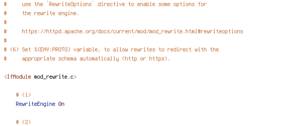 DEFLATE, DOCUMENT_ROOT, ENV, HTTP_COOKIE, HTTP_HOST, HTTPS, ORIGIN, POST, PROTO, QUERY_STRING, REQUEST_FILENAME, REQUEST_METHOD, REQUEST_URI, TIME, W3TC_ENC, W3TC_PREVIEW