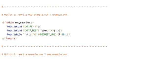 DEFLATE, force-no-vary, HTTP_HOST, HTTPS, ORIGIN, REQUEST_FILENAME, REQUEST_URI, SCRIPT_FILENAME, SERVER_PORT, TIME