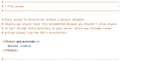 DEFLATE, HTTP_HOST, HTTPS, INCLUDES, ORIGIN, REQUEST_FILENAME, REQUEST_URI, SCRIPT_FILENAME, SERVER_ADDR, SERVER_PORT, static, TIME