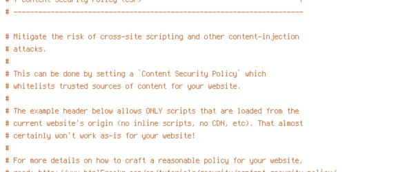 DEFLATE, HTTP_HOST, HTTPS, INCLUDES, ORIGIN, REQUEST_FILENAME, REQUEST_URI, SCRIPT_FILENAME, SERVER_ADDR, TIME