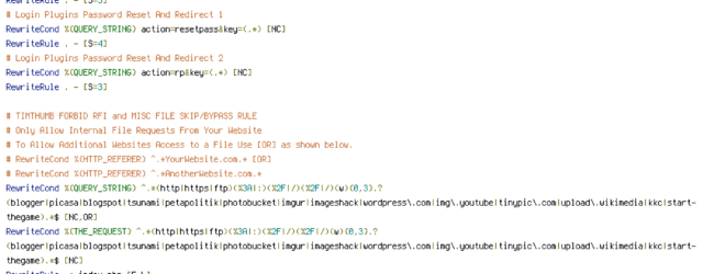 HANDLER, HTTP_REFERER, HTTP_USER_AGENT, INCLUDES, QUERY_STRING, REQUEST_FILENAME, REQUEST_METHOD, REQUEST_URI, THE_REQUEST