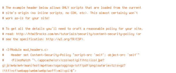DEFLATE, force-no-vary, HTTP_HOST, HTTPS, INCLUDES, ORIGIN, REQUEST_FILENAME, REQUEST_URI, SCRIPT_FILENAME, SERVER_PORT, static, TIME